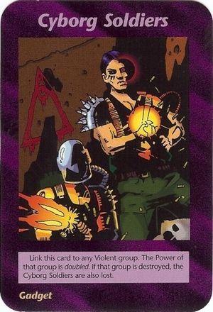 Resultado de imagem para as cartas illuminati ciborgue