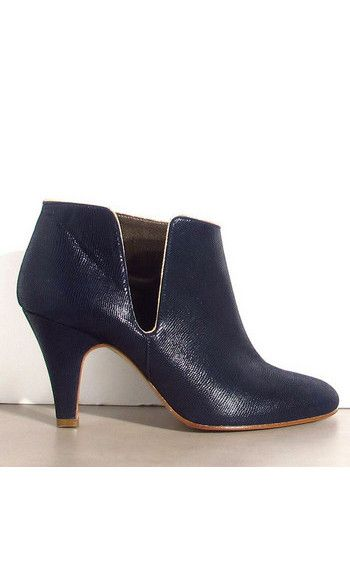 Patricia Blanchet boots FiftyFive bleu