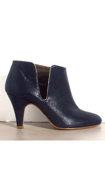 Patricia Blanchet boots FiftyFive bleu