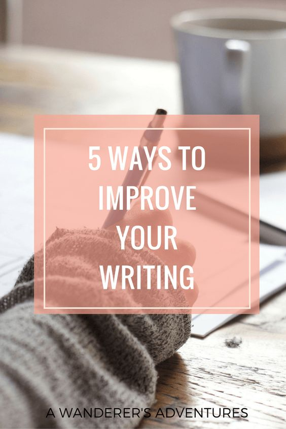 Everyone writes. But not every writes correctly. As a college student and blogger, I often find myself writing, and I learned a few tips over the years to write better. Want to become a better writer? Click through to find out 5 tips you can use to improve your writing!