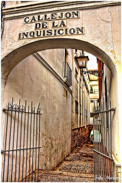 Callejon de la Inquisicion-Sevilla.