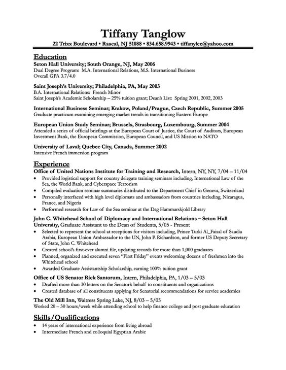 Electrical Engineer Resume Template -   wwwresumecareerinfo - sample higher education resume