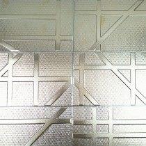 Bestile Futura Silver 6x20 Porcelain Tile