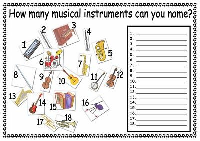 worksheet quiz on musical instruments teaching music and loving it pinterest the end. Black Bedroom Furniture Sets. Home Design Ideas