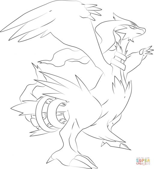 9 Reshiram Coloring Pages Pokemon Coloring Pages Pokemon Coloring Pokemon Drawings
