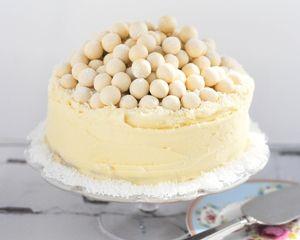 White chocolate Malteser cake recipe makes a show-stopping alternative Christmas cake thats easy to recreate