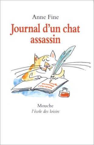 Les coccinelles : Journal d'un chat assassin fiche lecture suivie.. Je vais le lire avec Maël.