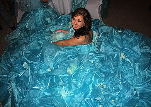 Gorger Gypsy Eden S Gown Is A Sight To Behold My Fat American Wedding Pinterest And Gowns
