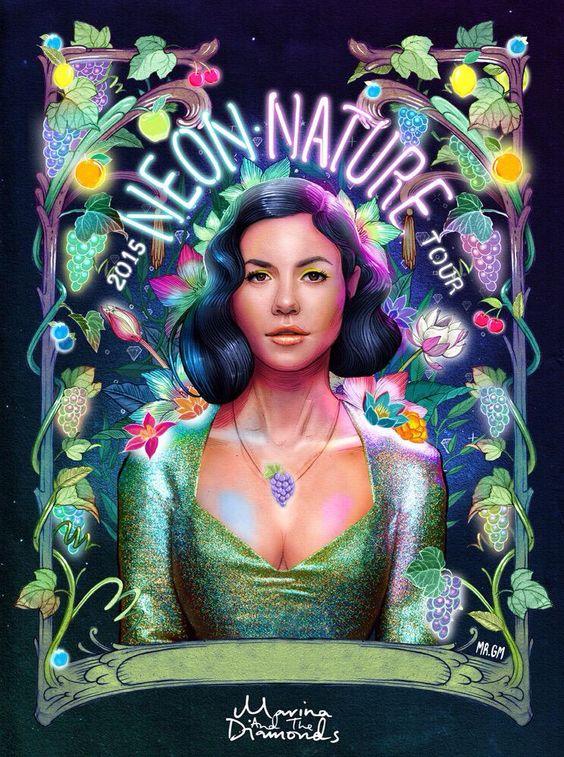 Neon Nature Tour Marina and the diamonds 2015