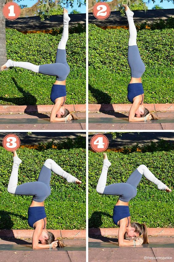 Headstand Transitions: A Step-by-Step Tutorial - Pin now, read later!