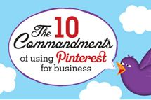 The 10 Commandments of using Pinterest for business