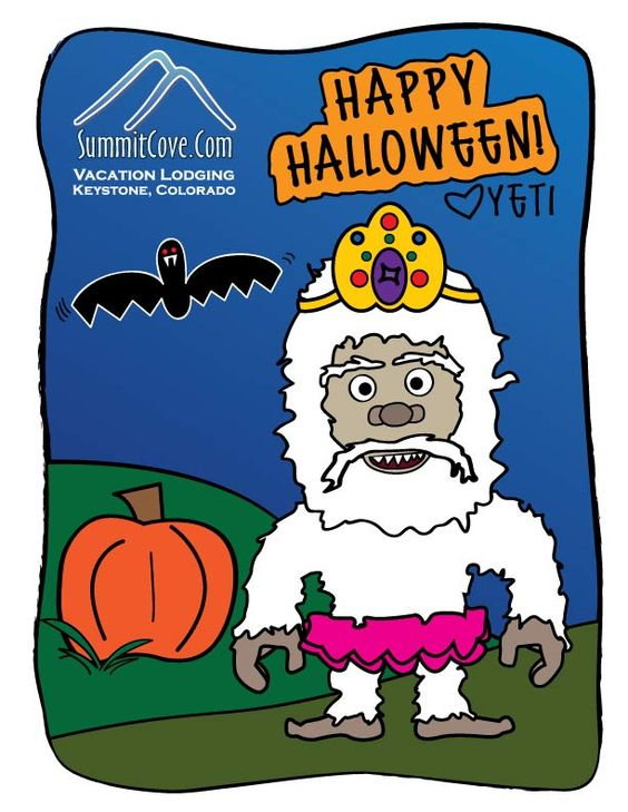 Happy Halloween... from your favorite Yeti!