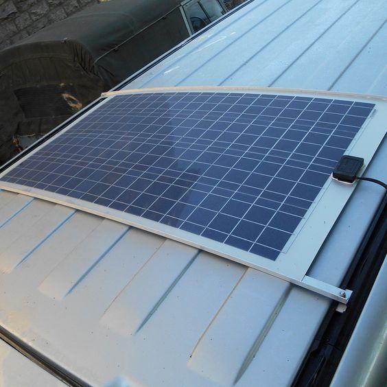 Solar Camper Solutions Vw T5 T6 Bolt On Solar Kit Not California Solar Panels Solar Kit Best Solar Panels