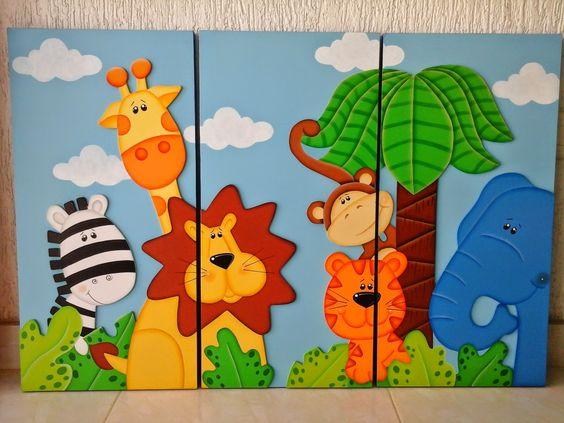 Aventuras country cuadros infantiles bebes pinterest - Cuadros infantiles para habitacion de nina ...