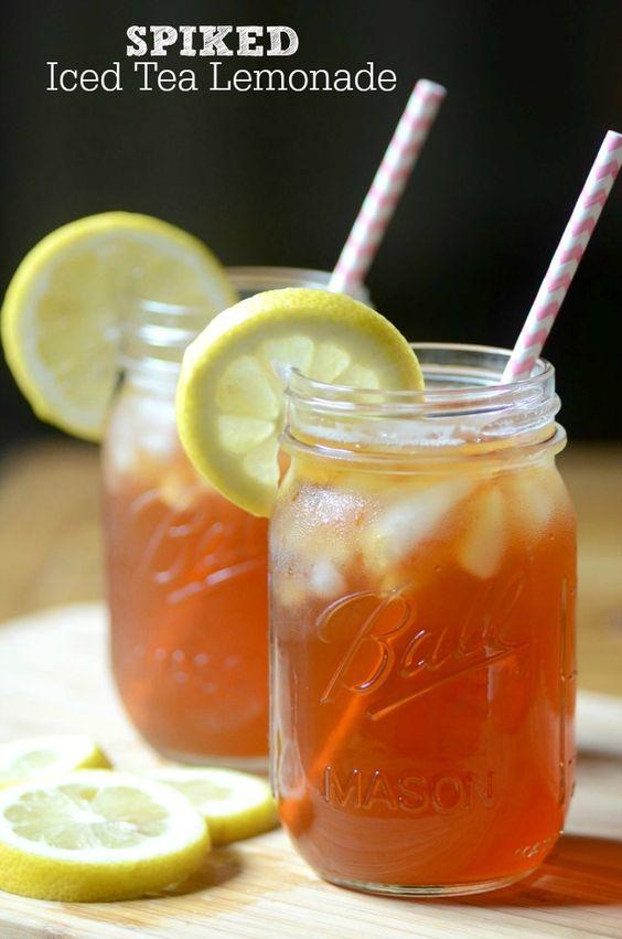 iced spiked iced and more iced tea lemonade teas lipton rum tea ...