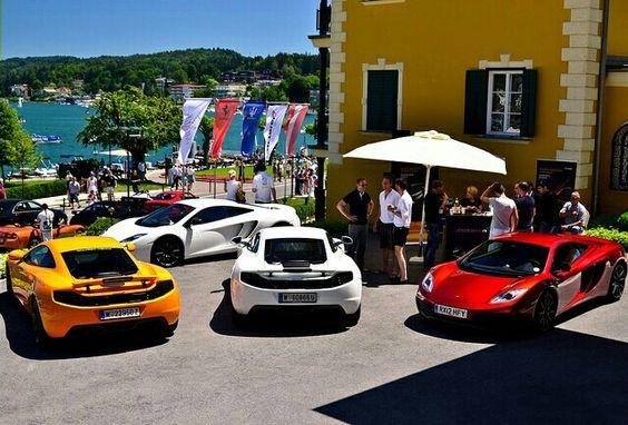 McLaren party