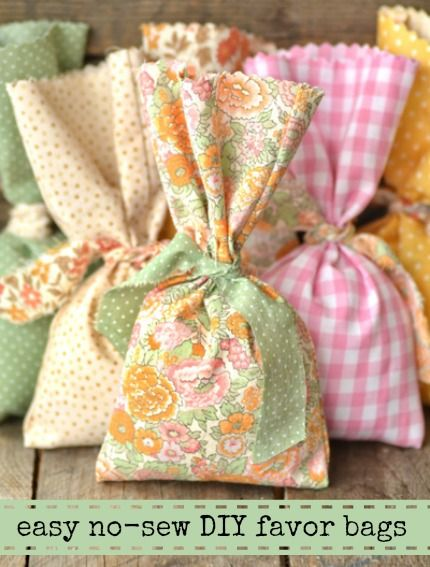 Diy Wedding Gift Tutorial : diy and crafts tutorials wedding favor bags fabrics simple weddings ...