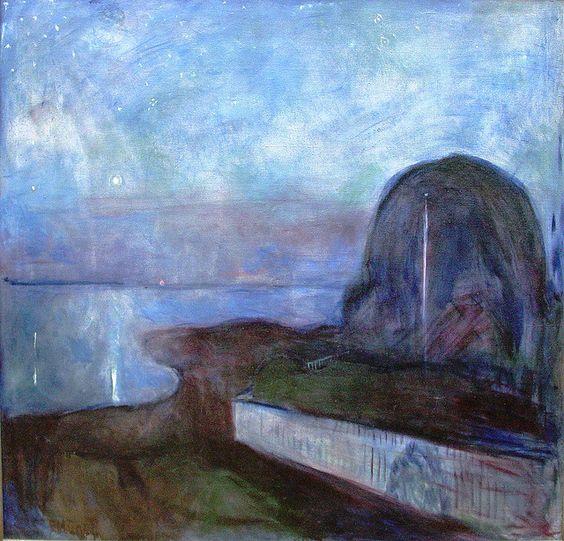 Edvard Munch: Starry Night 1893