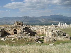 Laodicea - one of the seven churches of Revelations