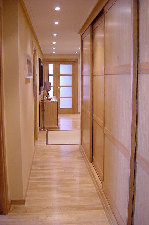 Beau Combinar Color Puertas Y Tarima Flotante Puertas Interiores De Madera Decoracion Vestibulo De Entrada Interiores De Armarios