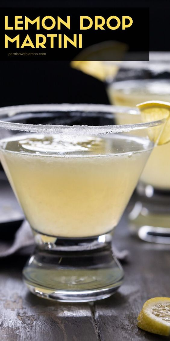 The Best 4 Ingredient Lemon Drop Martini Recipe - Garnish with Lemon®
