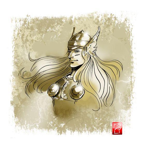 Speedy Thor by Riccardo-Fasoli