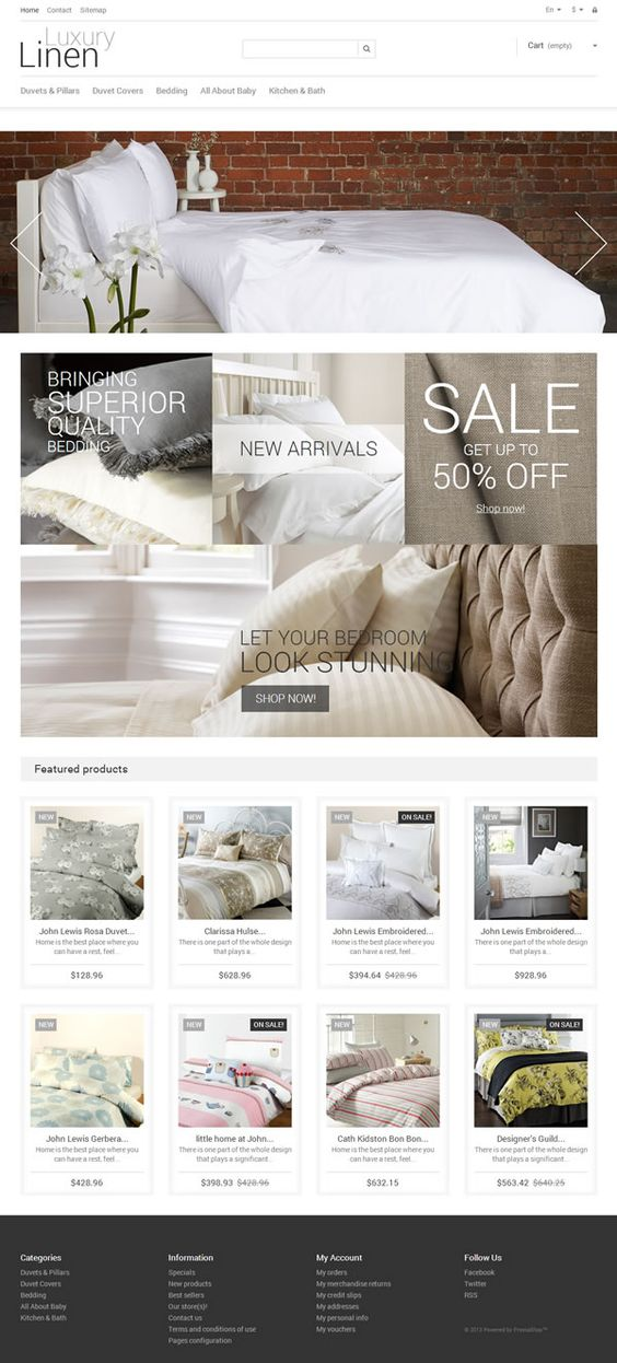 Prestashop template #furniture #home #ecommerce #responsive