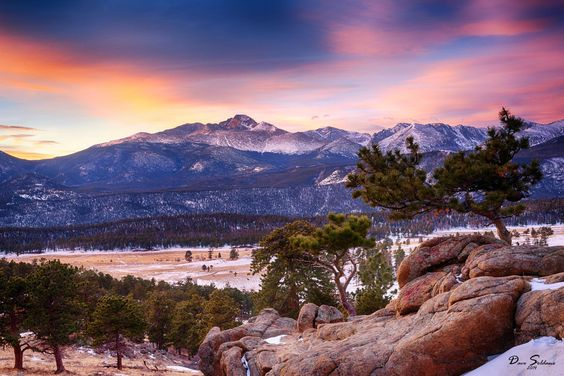 Surreal Sunrise at Rocky Mountain National Park by David Soldano on 500px