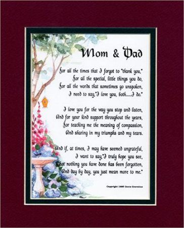 65th Wedding Anniversary Gift For Parents : 50th anniversary wish poems Anniversary Sms For Mom And Dad Search ...