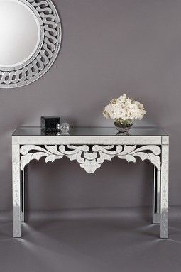 Cute console table!
