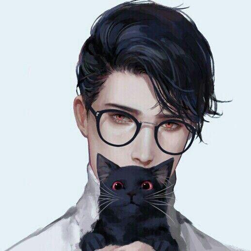 ᐈ Парень с котом фото, картинка мужчина с котом | скачать на ... | 518x518