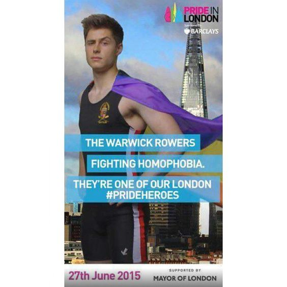 We're extremely grateful to have beem nominated as #prideheroes in support of London LGBT+ Pride. Here's a picture of @tristan_wr that's up in the London underground. We'd love to hear from you if you see it for yourself! #wr16 #prideinLondon