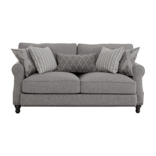 Amazing Jamestown Dark Grey Loveseat In 2019 Grey Loveseat Love Short Links Chair Design For Home Short Linksinfo