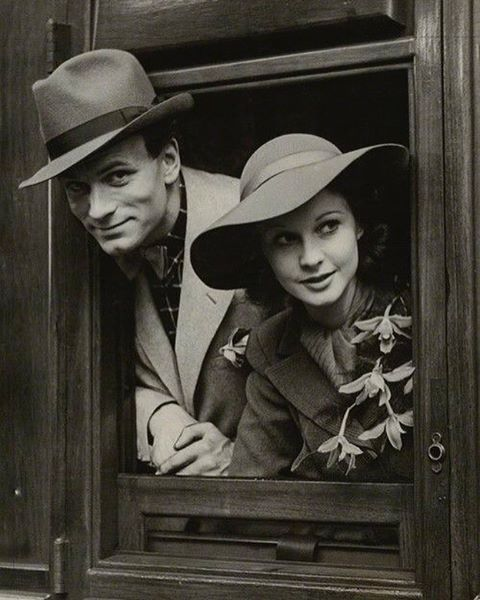 """""""I never thought it was possible to love anybody so much or quite so completely, or that anybody should be so wonderfully abundant and prodigal to me in everything I've wanted most."""" - Laurence Olivier, about Vivien Leigh 1937 #vivienleigh#laurence#olivier#classic#oldhollywood#couple#vintage#star#larry#viv"""