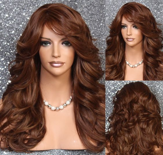 The Extra Long Red Layered 2021 Haircut