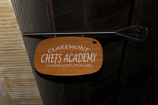 Went adventuring to check out a local cooking school!  This is Claremont Chefs Academy!
