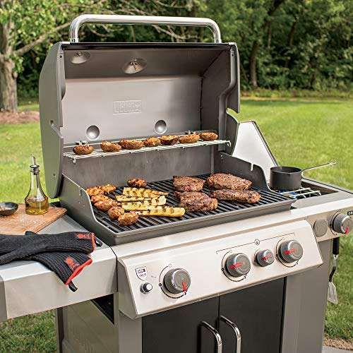 Weber Genesis Ii E 335 Review Which Is Best E330 Or E310 Natural Gas Grill Gas Grill Backyard Grilling