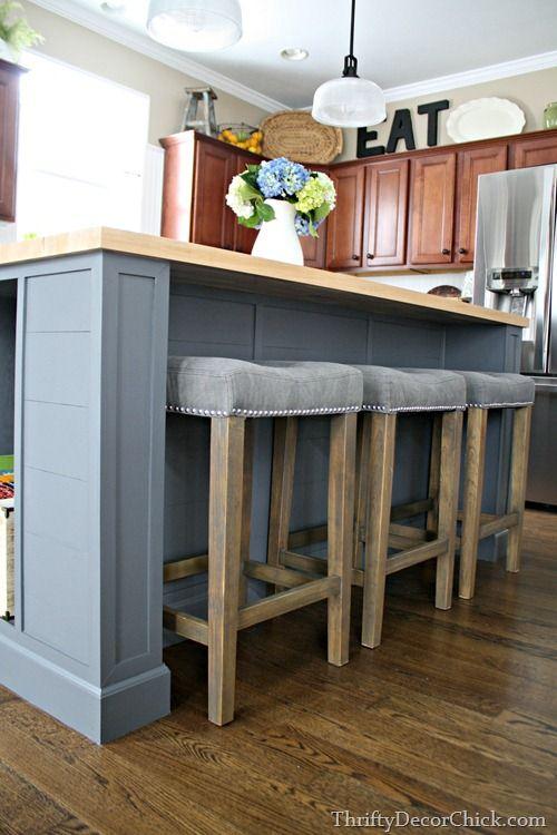 Les 10 meilleures images à propos de Kitchen sur Pinterest Îles - construire un bar de cuisine
