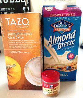 Pumpkin Spice Chai Tea Latte #recipe #pumpkin #fall