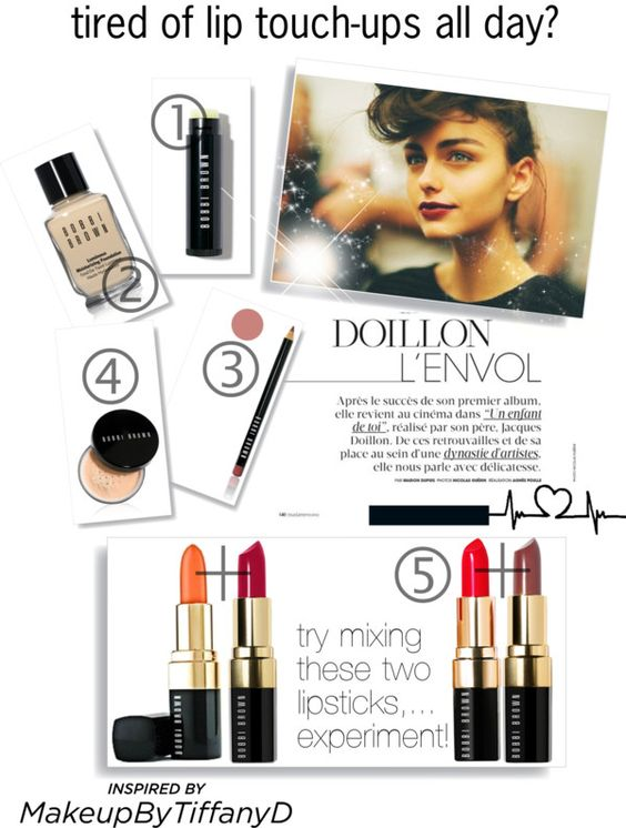 """I don't have time to re-apply my makeup through the day,..."" by fatal-poison-4-u ❤ liked on Polyvore"