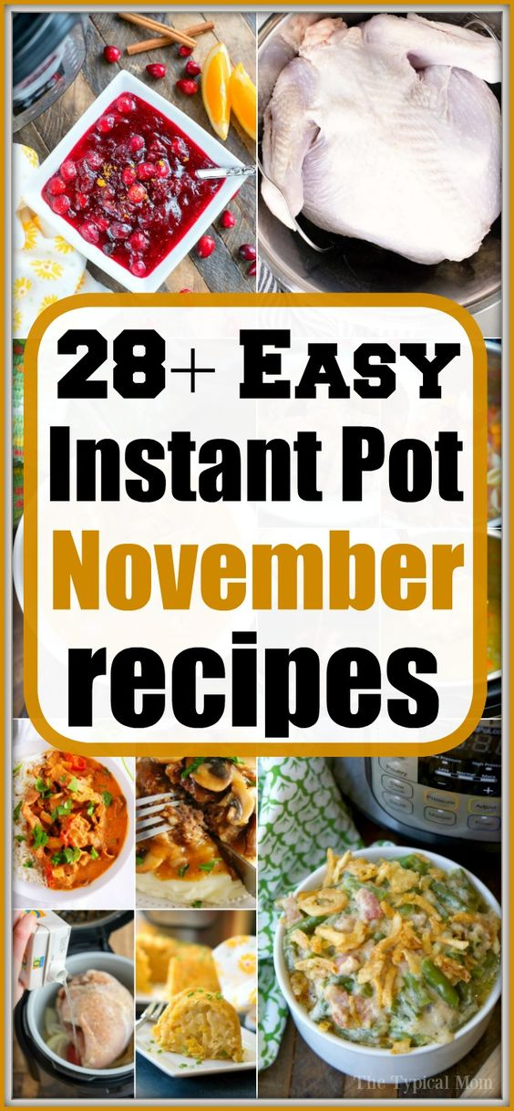 All the Instant Pot Thanksgiving Recipes You'll Need + More!