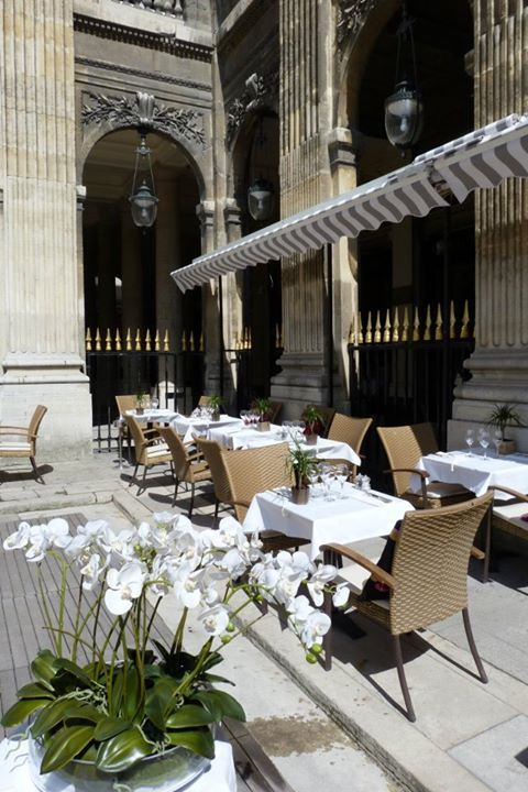 Terrasse du restaurant du palais royal for Cafe du jardin restaurant covent garden