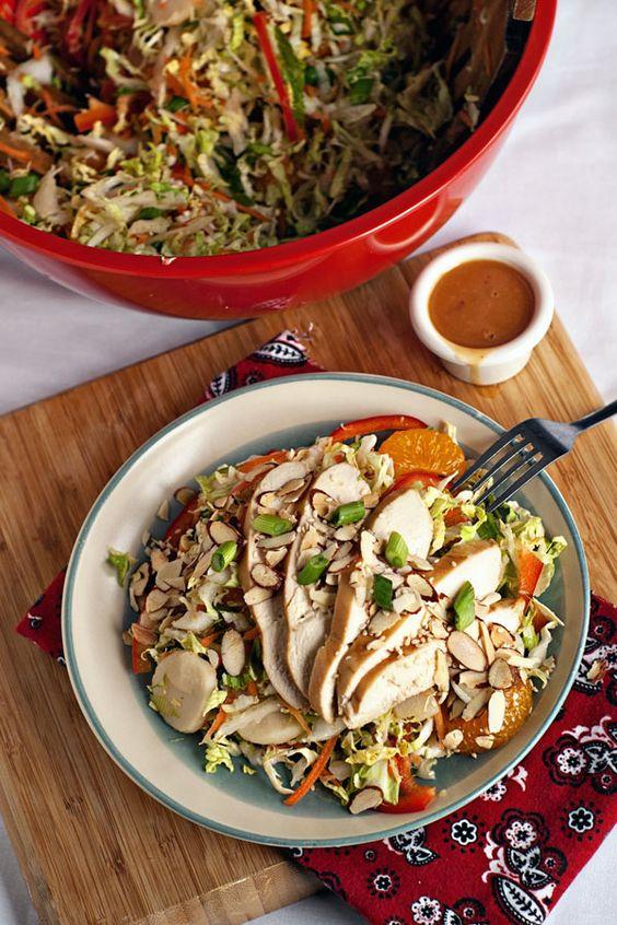 Chinese chicken, Chinese chicken salads and Chicken salads on ...