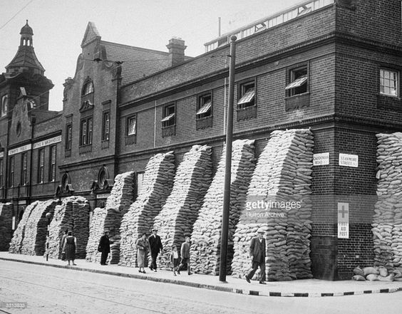 Caledonian Road Swimming Baths London Which Was Used As A First Aid Station Is Protected By