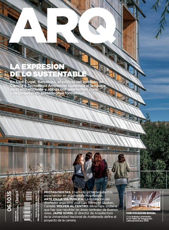 Tapa de la edición impresa de ARQ del martes 6 de octubre de 2015