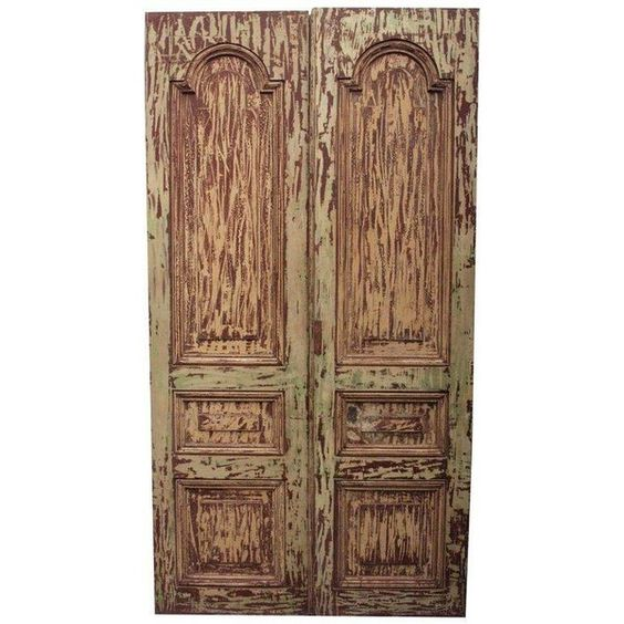Antique Mahogany South American Doors ($1,890) ❤ liked on Polyvore featuring home, furniture, storage & shelves, decorative objects, door furniture, mahogany furniture, patina furniture and mahogany wood furniture