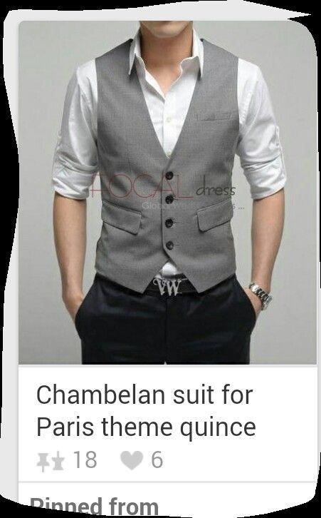 Chambelan suit | quinceau00f1era | Pinterest | Suits