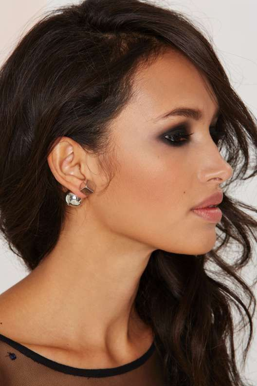 Square Off Jacket Earrings - What's New