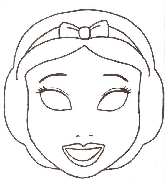 Junior City - Découpage Masques à imprimer: