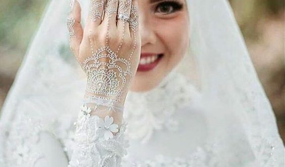 فساتين زفاف محجبات 2021 فساتين فرح ميكساتك Necklace Pearl Necklace Fashion